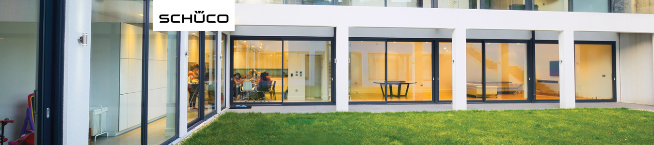 we install schuco bi-folding doors throughout Cheam, Sutton and Surrey